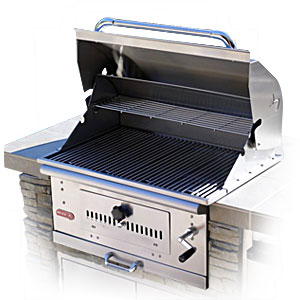 Bison Charcoal Grill by Bull available in LP or NG (CLON)