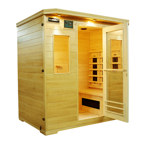4 person deluxe sauna magic saunas hot tubs and pool tables outlet. Black Bedroom Furniture Sets. Home Design Ideas
