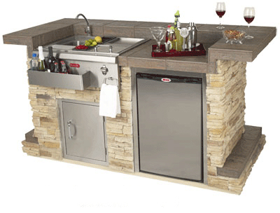 Outdoor Bar Islands Grills Hot Tubs And Pool Tables Outlet