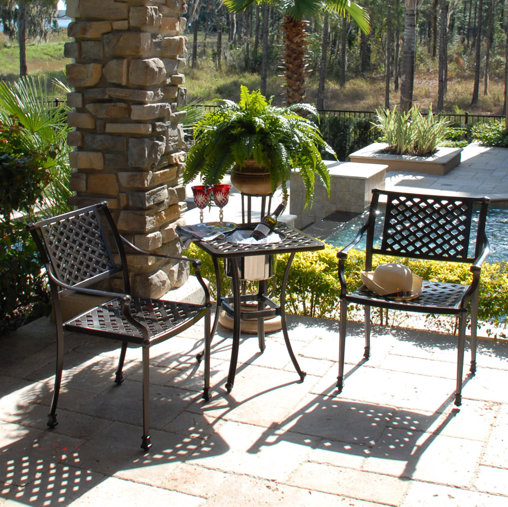 Charleston Outdoor Patio Bistro Set Hot Tubs And Pool